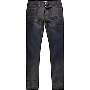 Dark blue wash RI Flex Sid skinny jeans
