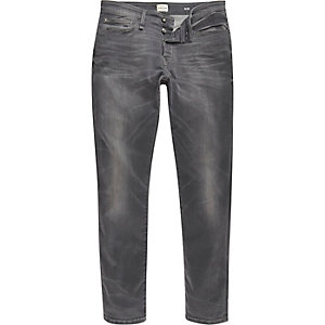 Grey wash RI Flex slim jeans