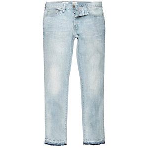 Light blue wash Dylan slim jeans