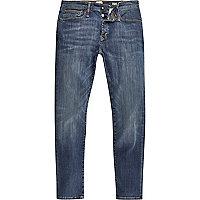Mid blue wash RI Flex Sid skinny jeans