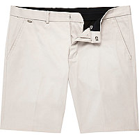 Elegante Chino-Shorts in Ecru