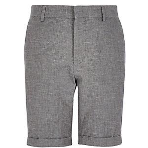 Grey smart shorts