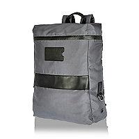 Grey minimal backpack