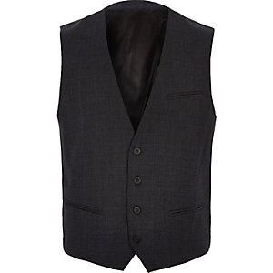 Dark grey Vito waistcoat