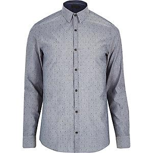 Blue Vito spot shirt