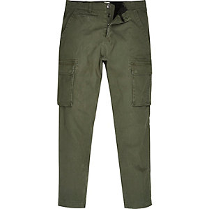 Khaki Only & Sons trousers