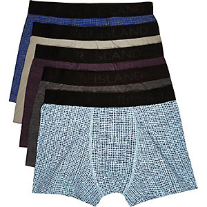 Mixed pattern trunks pack