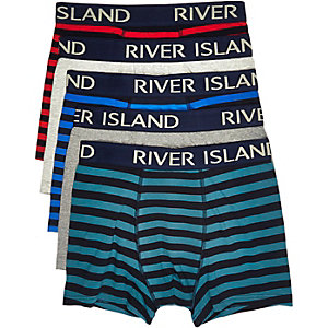 Mixed stripe trunks pack