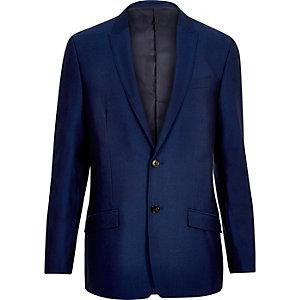 Hellblaue, schmale Anzugsjacke