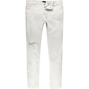 White Sid skinny distressed jeans