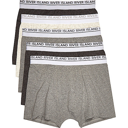 Grey trunks multipack
