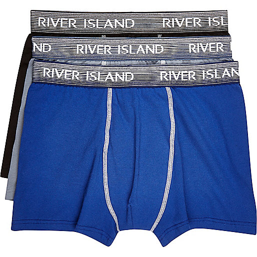Blue boxers multipack