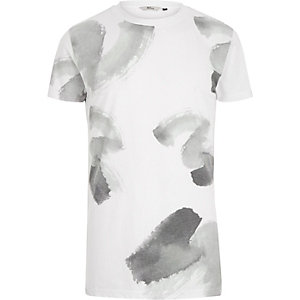 White RVLT paint brush print t-shirt