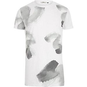 White RVLT paint brush print t-shirt