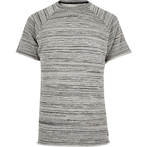 Grey RVLT short sleeve sweatshirt