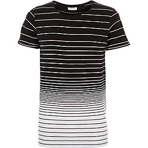 Black Jack & Jones Premium stripe t-shirt