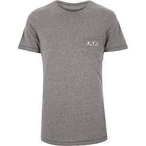 Grey Jack & Jones Vintage t-shirt