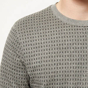 Grey Jack & Jones Premium sweatshirt
