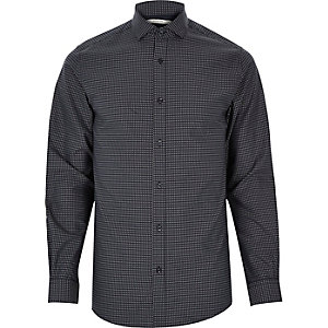 White Jack & Jones Premium printed shirt