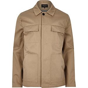 Brown casual jacket