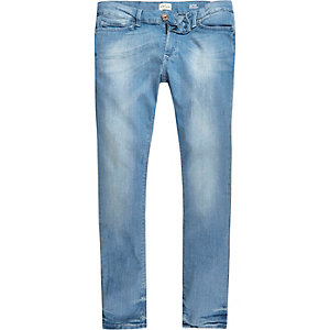 Light blue wash Danny super skinny jeans