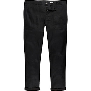 Black worker Sid skinny stretch jeans