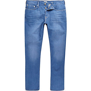 Bright blue Dylan slim jeans