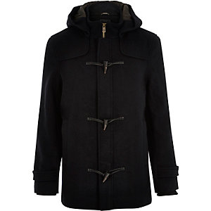 Black Only & Sons duffle winter coat