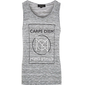 Grey space dye Carpe Diem tank