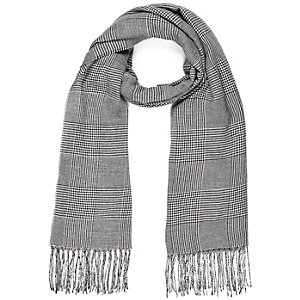 Black Prince of Wales check scarf