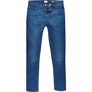 Jean skinny Sid bleu vif stretch