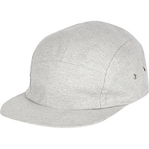 Grey chambray cap