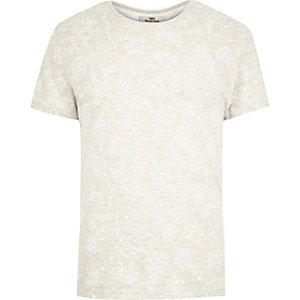 Ecru Bellfield printed t-shirt