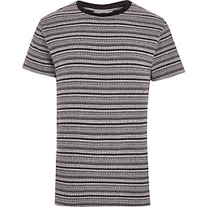 Black Bellfield print t-shirt