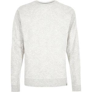 Ecru Bellfield fade print sweatshirt