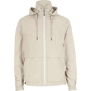 Ecru Bellfield coach jacket