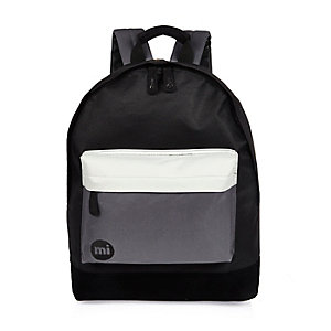 Black color block Mipac backpack