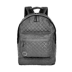 Grey quilted Mipac backpack