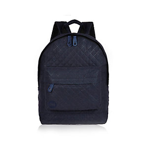 Black Mi-Pac quilted backpack