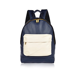 Navy Mi-Pac backpack