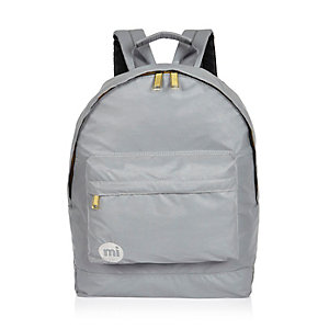 Grey gold trim Mipac backpack