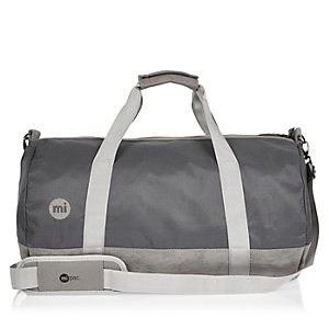Grey Mipac duffel bag