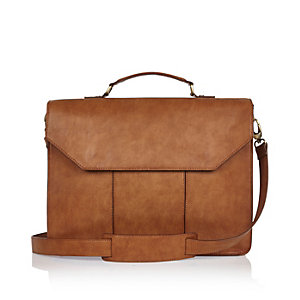 Light brown work bag