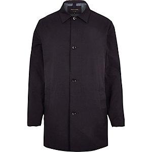 Navy smart mac coat