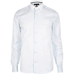 Blue stripe smart shirt