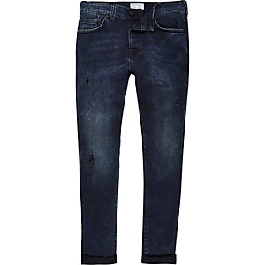 Blue Only & Sons distressed skinny jeans
