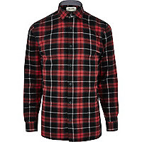 Black Only & Sons check shirt