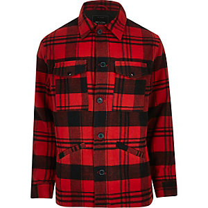 Red Only & Sons check jacket