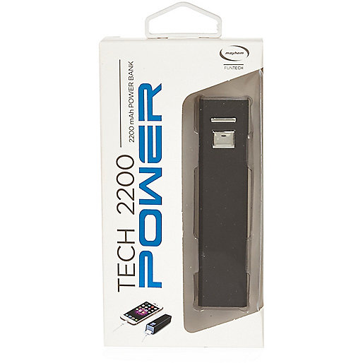 White Tech 220 Power Bank portable charger