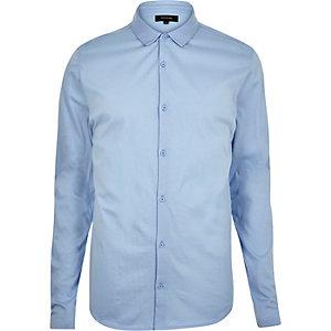 Light blue jersey shirt